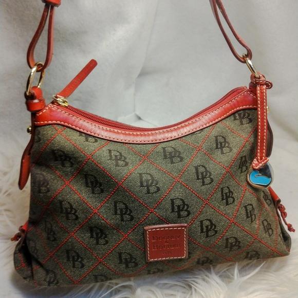 Dooney & Bourke Handbags - Authentic grey Dooney & Bourke purse handbag